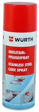 (1 L/26,25 €) WÜRTH EDELSTAHL-PFLEGESPRAY *0893121* 400 ml