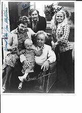 All In The Family cast signed photo with PSA/DNA full authentication letter