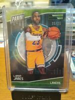 LeBron James 2018 Panini Cyber Monday Cracked Ice 25/25 Los Angeles Lakers