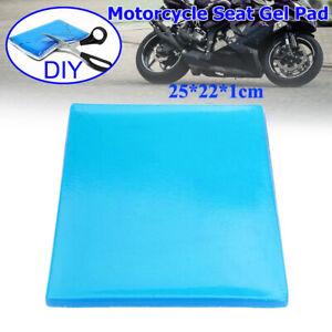 Motorcycle Seat Gel Pad Cooling Cushion Motorbike Gel Seat Shock Mats Seats NEW