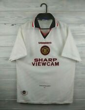 Manchester United jersey large 1996 1997 away shirt soccer football Umbro