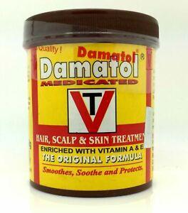 1 x Damatol Medicated Original Formula Hair Scalp & Skin Treatment 110G