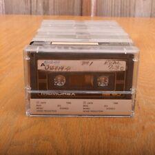 10 Memorex DB90 90 Minute Cassette Audio Tapes