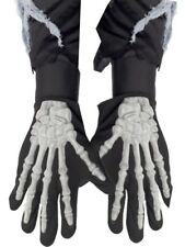 Skeleton Gloves Halloween Adult Adult Mens Smiffys Fancy Dress Costume Accessory