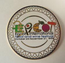 Disney Pin - Epcot International Food & Wine Festival 1999 - RARE!