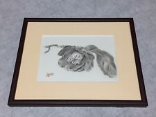 HITOSHI_KITA_100%-ORIGINAL_suibokuga_sumi-e_brush_painting_Japan_master_camellia