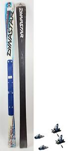 $600 Dynastar Team Course Comp Junior Race Skis + Look Nova Bindings Combo Kids
