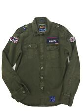 MEN'S  SUPERDRY  ROOKIE  MILITARY FIELD JACKET  GREEN  LARGE