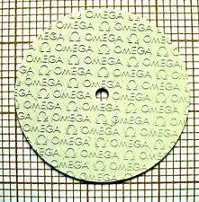 Cadran creme OMEGA de montre ancienne vintage 表盘腕表 dial Zifferblatt,esfera b2