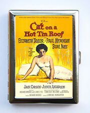 Cat on a Hot Tin Roof Cigarette Case Wallet Business Card Holder movie