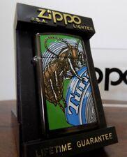 Zippo Midnight Chrome Slim Lighter Barrett Smythe Roach 1992 Rare NEW