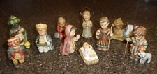 Hummel Nativity Figures: By-the Piece! Free-Standing or fits 2005 Goebel Wreath.