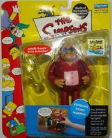 "Playmates Toys The Simpsons Series 6 Action Figure ""Bleeding Gums Murphy"" L6"