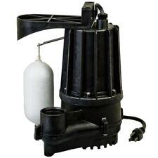 Zoeller M72 Aqua Mate 13 Hp Thermoplastic Sump Pump With Vertical Float