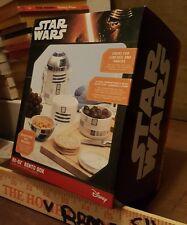 R2-D2 BENTO BOX Star Wars w/Death Star Sandwich Stamp & Drawstring Carrying Bag
