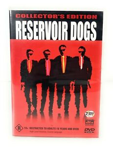 Reservoir Dogs (DVD, 1992) Quentin Tarantino Collector's Edition R4 Free Postage