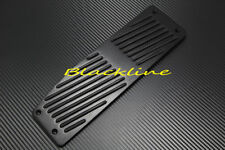 For 99~06 BMW E46 3-Series 320i 325 330 Ci M3 Aluminum Black Dead FootRest Pedal