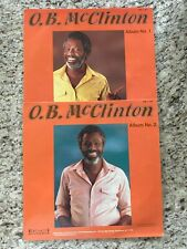 New listing O. B. McClinton - TV Records Vol. 1 & 2 Vinyl LPs, OG, 1986, Suffolk