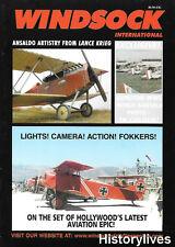 Windsock International V20 N5 Fokker The Aviator Movie Howard Hughes Ansaldo