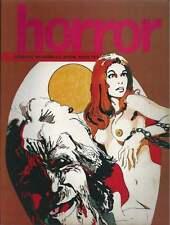 REVUE . HORROR N°2 . 1972 .
