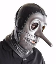 SlipKnot Music Chris Fenn Full Mask Gray Chapter Licensed Costume