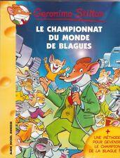 GERONIMO STILTON N°26 Le championnat du monde des blagues livre jeunesse