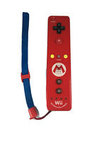 Nintendo Wii Motion Plus Remote Mario Cover and Strap - TESTED