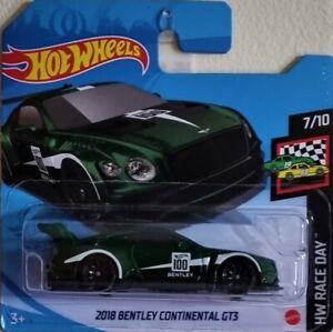 Hot Wheels 2021 - 2018 Bentley Continental GT3 - HW Race Day