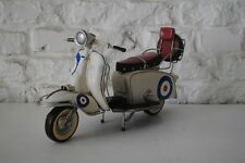 Model 1966 lambretta 200sx Special Tin Plate Ornament with target livery