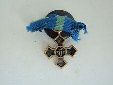 ROMANIA KINGDOM 1916-1919 WWI COMMEMORATIVE CROSS MINIATURE. VERY RARE!