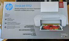 New HP DeskJet 1112 Printer