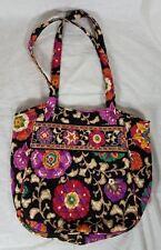 Vera Bradley Authentic Vera Tote Bag Suzani - Retired Pattern