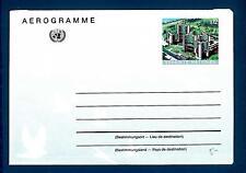 ONU - NAZIONI UNITE (VIENNA) - 1992 - AEROGRAMMA - S 12 - Sede Nazioni Unite