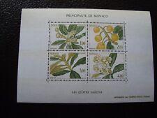 MONACO - timbre yvert et tellier bloc n° 31 n** (haut jaunie) (Y2) stamp