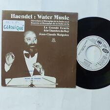 HAENDEL Water music JEAN CLAUDE MALGOIRE  PRO 332 PROMO