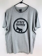 Crazy Donkey Ipa Santorini Brewing Company Greece T-shirt adult Xxl