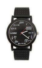 ThumbsUp Equation Watch Black Math Wristwatch Quartz Analog Teacher Student Gift