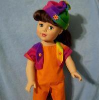 LOT Girl Doll Rainbow Clothes for 18in Battat Gotz Madame Alexander Buy American