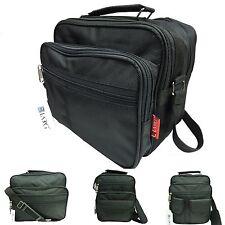 Men's Shoulder Bag Black Work Bag Steward
