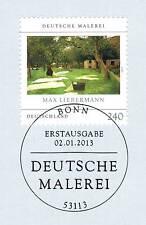 BRD 2013: Max-querido hombre-pinturas nº 2974 con sólo bonn etiquetas sello! 1a 1510