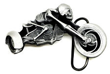 Skull Belt Buckle 3D Skeleton Trike Biker Motorcycle Authentic Dragon Designs