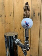 Pabst Blue Ribbon Beer Golf TAP HANDLE PBR Caddyshack Gopher Beer Keg Kegerator