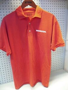 Genuine Honda Mens Red Polo T Shirt