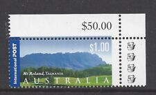 Reprint Stamps - Mt Roland ($1.00) 4K Top Right Corner