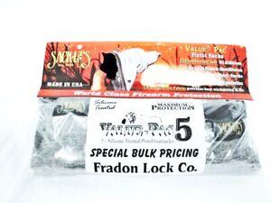 Sack-Ups Pistol Sack Ups Value Pack 5 New Bulk Firearm Protect Cover Sleeve