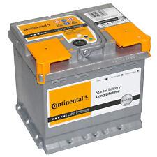 Batteria Auto Continental 55Ah 12v 540A +DX = Fiamm 54 Ah 52ah Bosch Varta 53ah