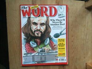 The Word Magazine John Peel Very Good Condition