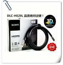 ORIGINAL SONY DLC-HE20L XBOX PS3 PS4 Bluray HD HDMI high-definition video cable