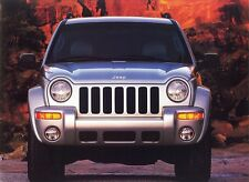 2002 Jeep Liberty Sport Limited Edition 32-Page Dealer Sales Brochure