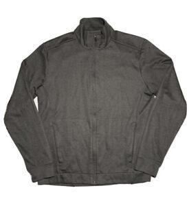 Ministry of Supply Mens Full Zip Jacket sz M Medium Brown